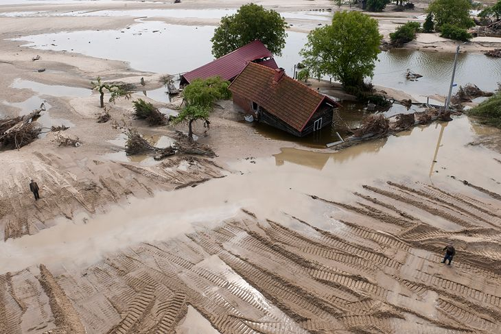 ?Powódź z nieba? - wystawa fotografii lotniczych Kacpra Kowalskiego