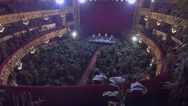 Koncert w Gran Teatre del Liceu.