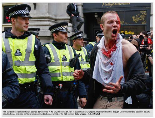 Zdjęcia z zamieszek na ulicach Londynu