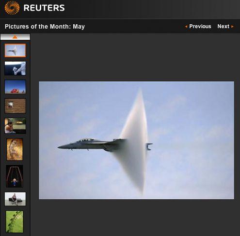Zdjęcia miesiąca: maj 2009 - agencja Reuters