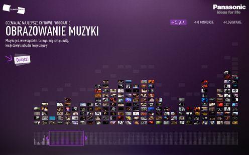 Internetowy konkurs fotograficzny LUMIX Award 2009/2010 odkryje temat muzyki