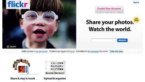 Flickr stał się witryną dla lamerów?