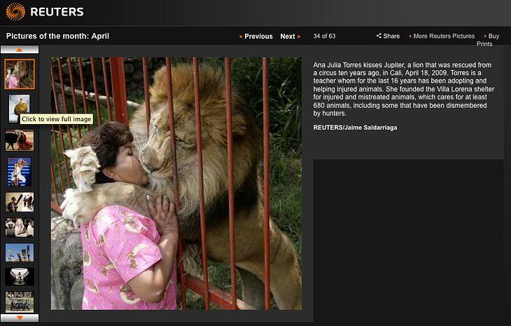 Reuters - najlepsze zdjęcia z kwietnia
