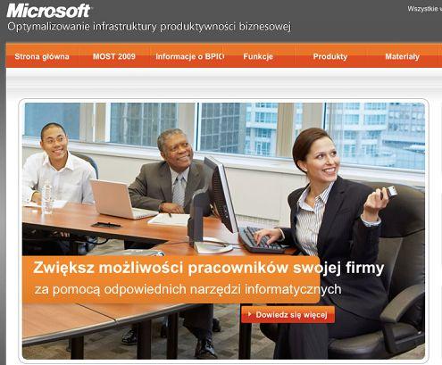Komentarz Microsoft Polska do reklamowej wpadki