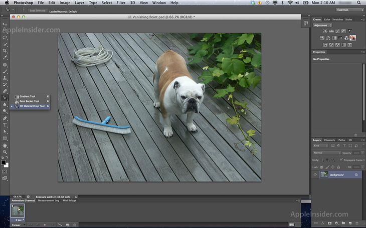 Adobe Photoshop CS6 (źródło: AppleInsider)