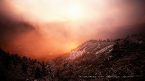 Monumentalne góry w Japonii - przykład na świetny film time-lapse