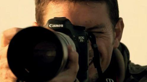 Canon 7D - twórca i aktor w swojej nowej reklamie
