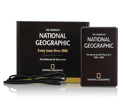 120-letnie archiwum National Geographic zmieści się na Twojej dłoni