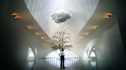 Nowoczesna architektura w śnie wytrawnego fotografa