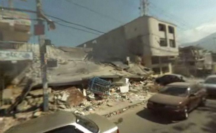 Kadr z wideo panoramy 360° z Haiti