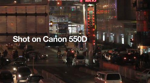 Pierwsze filmy Full HD z Canona EOS 550D robią wrażenie
