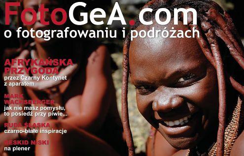 FotoGeA.com - nowy magazyn internetowy dla fotografów podróżników