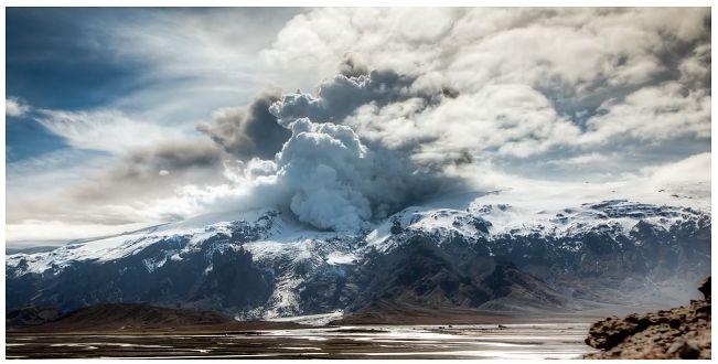 Wulkan Eyjafjallajökull przez pryzmat Canona 5D Mark II - piękny film