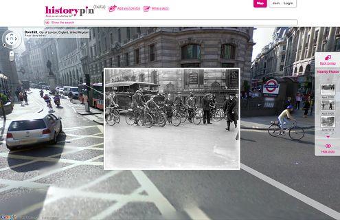 Historypin, czyli historyczne zdjęcia w Google Street View