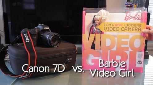 Canon 7D kontra ... lalka Barbie, czyli testowy szczyt absurdu