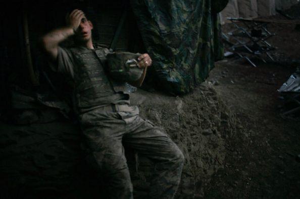Fot. Tim Hetherington, World Press Photo 2007