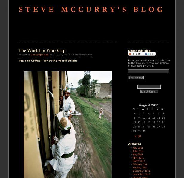 Fot. Steve McCurry