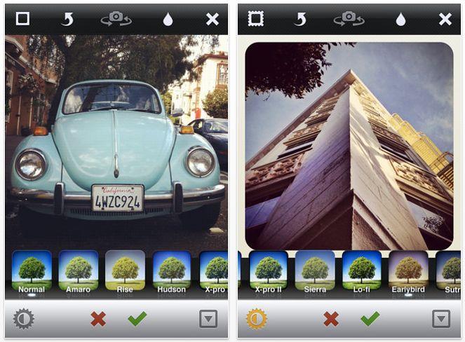 Instagram na iOS