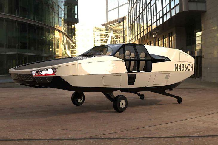 CityHawk eVTOL air taxi