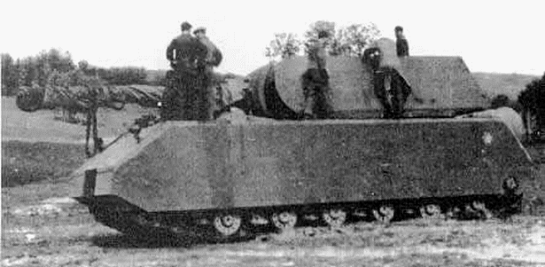 Panzerkampfwagen VIII Maus podczas testów prototypu