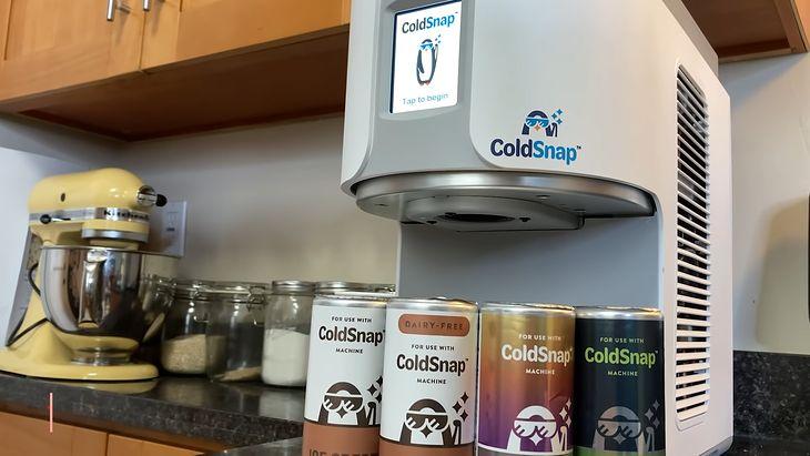 Maszyna do lodów ColdSnap (CNET Highlights)