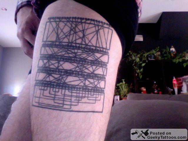 Zagadkowy tatuaż