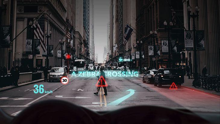 Ekran konstruowany przez Futurus ma pomagać kierowcy i dostarczać rozrywki pasażerom.