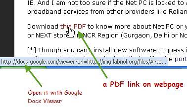 Otwieraj pliki PDF automatycznie w Google Dokumenty