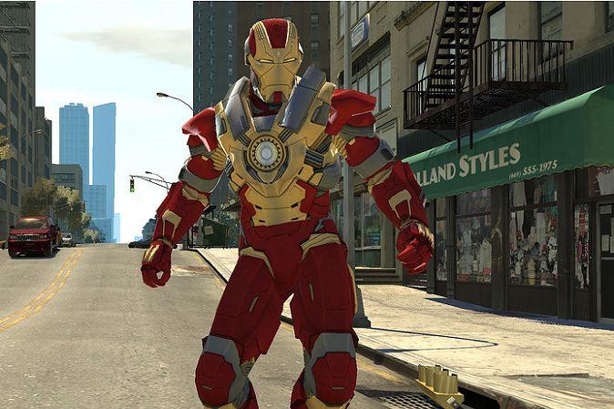 Iron Man w GTA IV? Dzięki modom to możliwe - ale tylko na PC