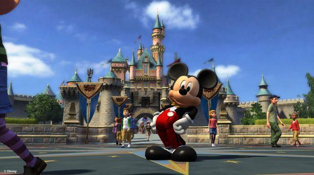 Myszka Miki w grze Kinect Disneyland Adventures