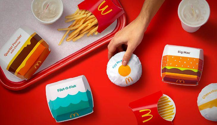 McDonald's wprowadza zmiany. Dotyczą opakowań