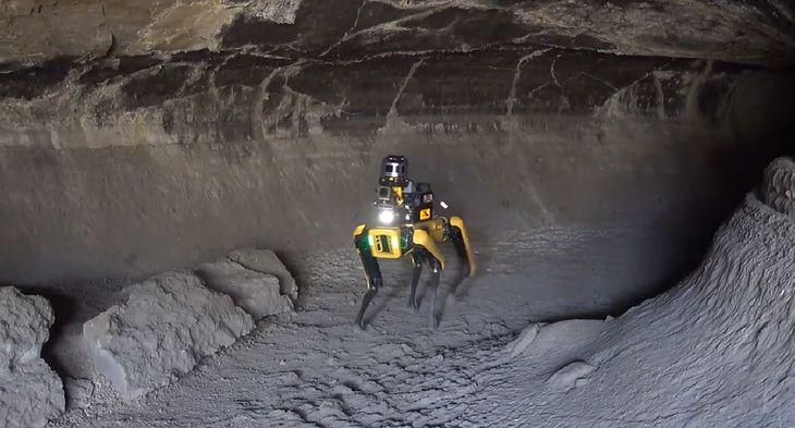Roboty stworzone do eksploracji jaskiń. W przyszłości posłużą do badań w kosmosie