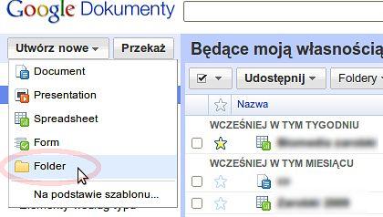 Udostępniaj Całe Foldery W Dokumentach Google Gadżetomaniapl
