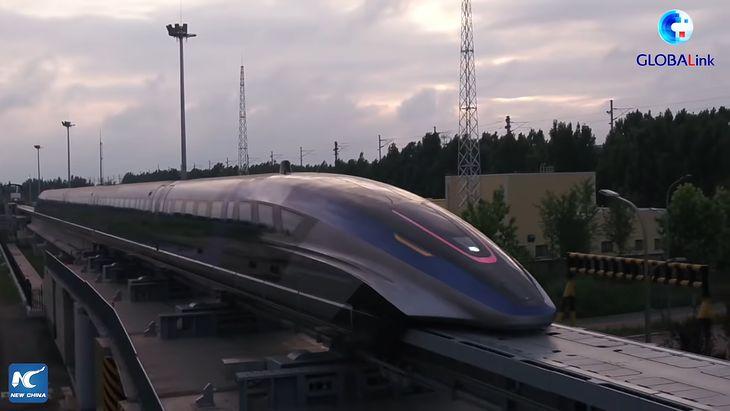 Chiński pociąg magnetyczny