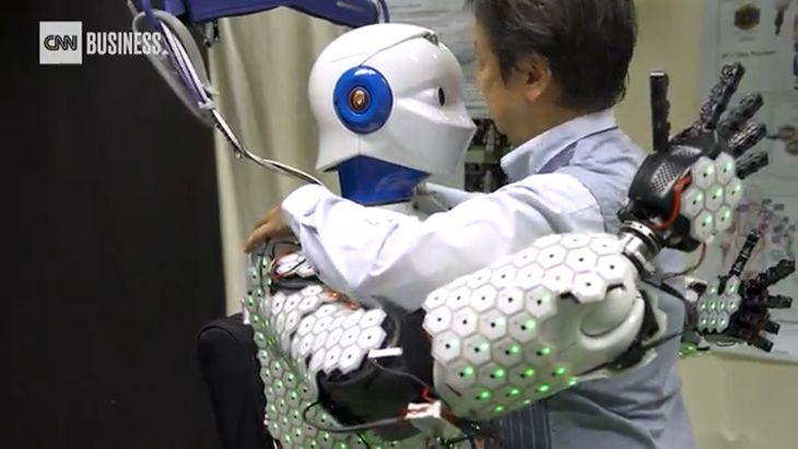 Roboty będą mogły odczuwać dotyk.
