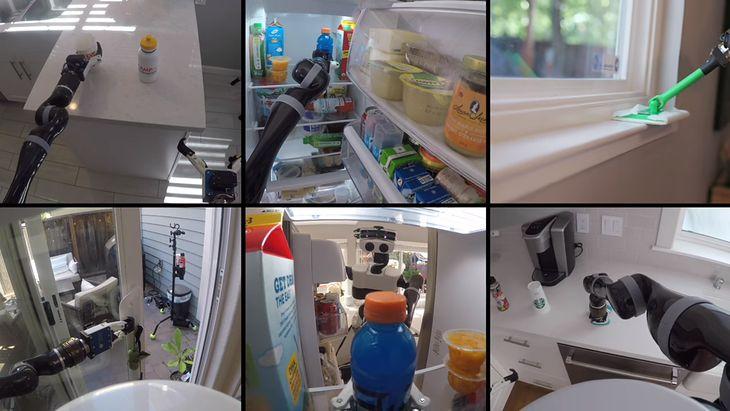 Toyota uczy swojego robota domowego za pomocą VR-u.