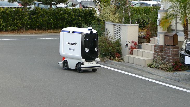 Robot dostarczający zakupy od firmy Panasonic. Kluczowe testy w lutym 2021 r.