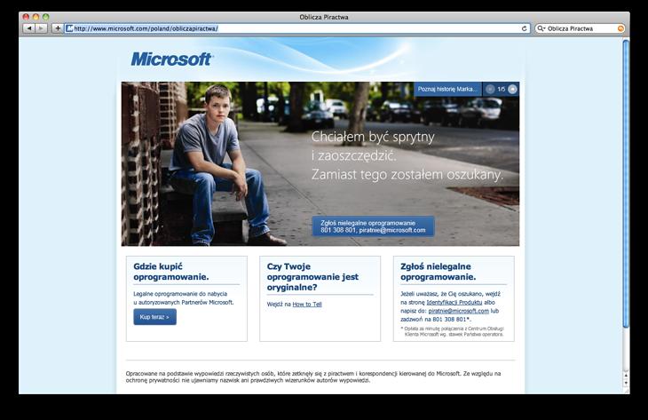 microsoft.com/poland/obliczapiractwa
