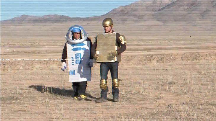 Simon Pegg i Nick Frost pokazują co na pewno pójdzie źle przy kręceniu remake\