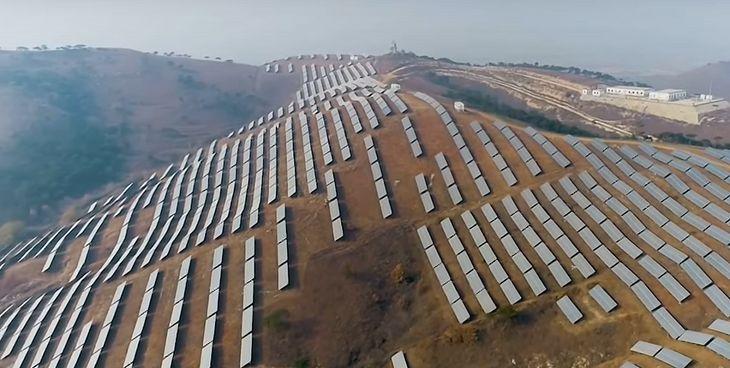 Solarne góry w Chinach