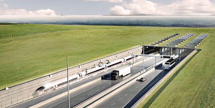 Jedna z największych inwestycji infrastrukturalnych w Europie. Gigantyczny tunel połączy Niemcy i Danię