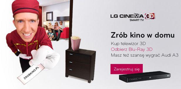 Gratisowa promocja LG (fot. zrobkino.pl)