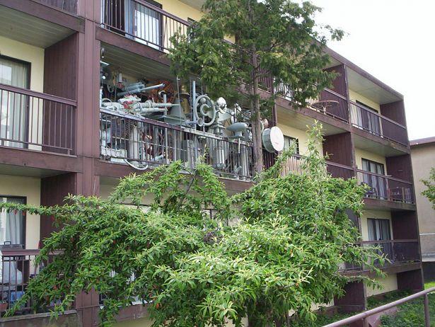 Mieszkanie Johna Hutchisona (Fot. Flickr/CC)