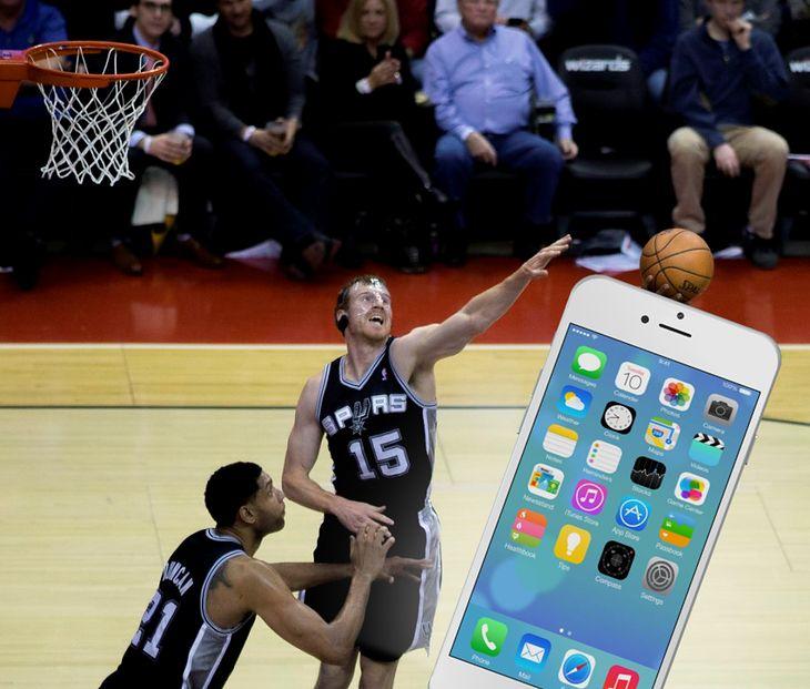 Matt Bonner i iPhone 6