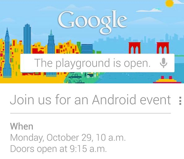 Google - zaproszenie na konferencję