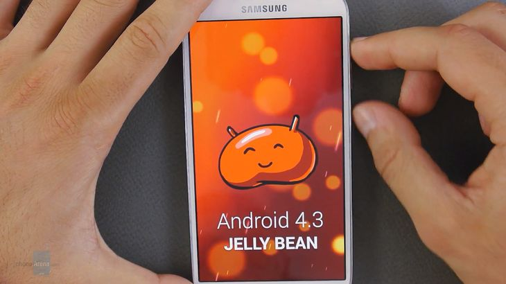 Android 4.3 Jelly Bean (fot. phonearena.com)