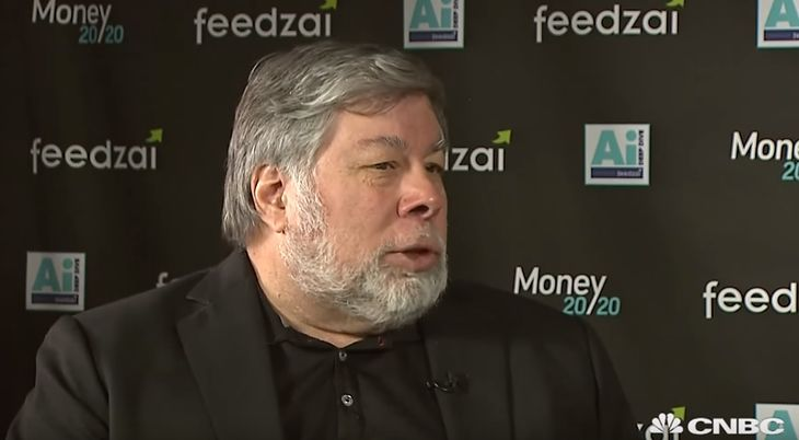 Steve Wozniak, współzałożyciel Apple