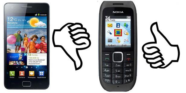 Nie każdy potrzebuje smartfona
