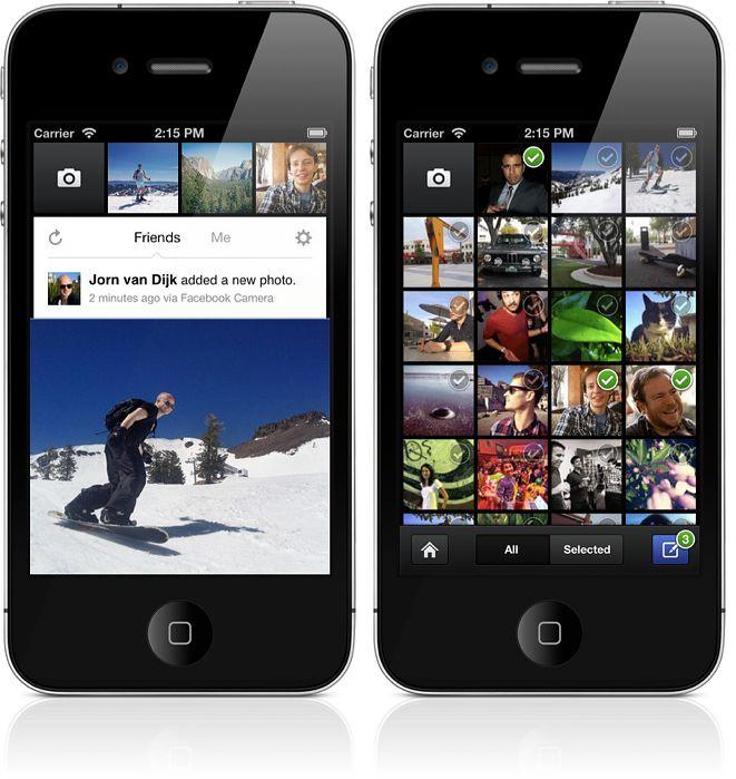 Facebook camera dla ios niebieski portal uruchomi sw j for Facebook camera