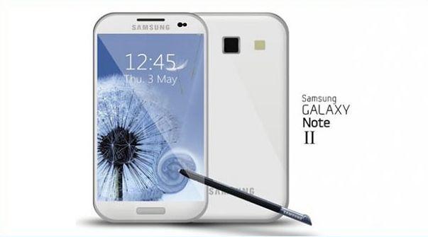 Galaxy Note 2 - koncept